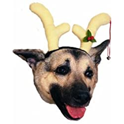 Dog Reindeer Headpiece Pet Costume