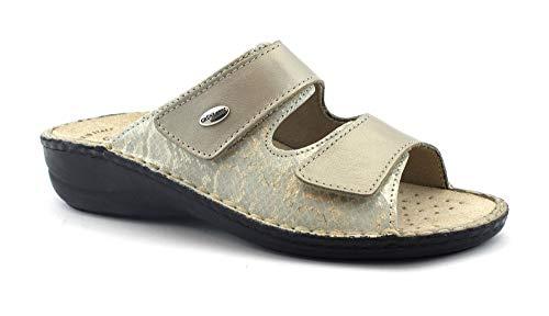 femminili dorate Grunland Pantofole Platinum Ce0221 lacrime plantari Dara rimovibili 1qxvUIw