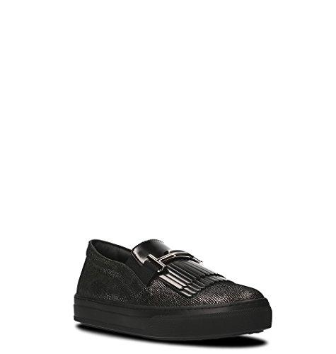Cuir Chaussures Noir Tod's Skate De Femme XXW0XK0V020HGQ0ZHC Zwq6C6