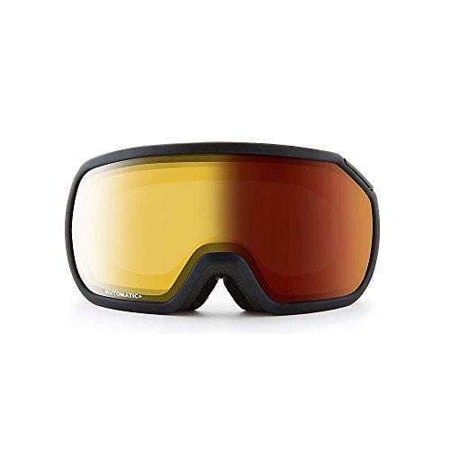 (Zeal Optics Fargo Full Frame Ski & Snowboard Goggles - Dark Night Frame, Dark Night Optimum Polarized Automatic+)