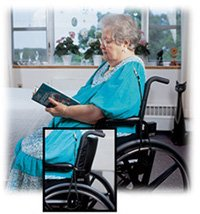 Secure SAM-2 Personal Pull Cord Alarm Monitor for Wheelchair, Chair, Bed - Fall Prevention Caregiver Patient Alert by Secure (Image #2)