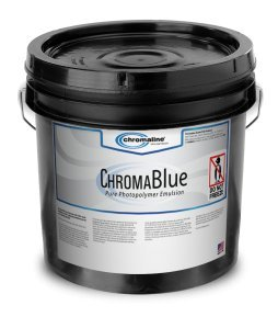 Chromaline ChromaBlue Photopolymer Emulsion for Screen Printing (Quart)