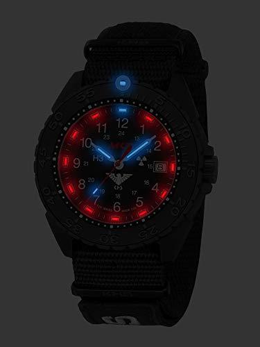 KHS Enforcer svart titan CR KHS.ENFBTCR.NXT7 med natoband XTAC svart