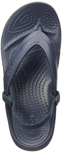 crocs Classic K Flip Flop, Navy, 8 M US Toddler