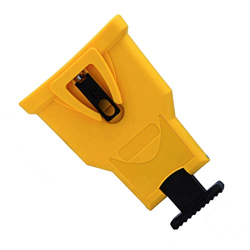 Belloc 2019 New Chain Grinder Sharpener, Grinding Chain Tool Unique Proprietary Saw Chain Sharpening Tool Fast Sharpen Chains On The Job Simple and Portable (yellow)