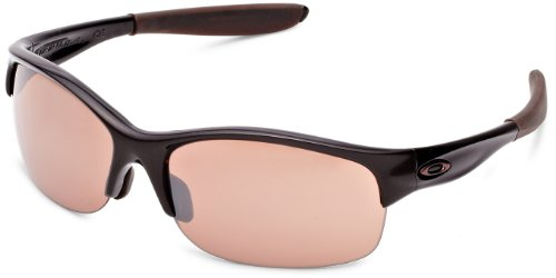 Vr28 Black Iridium Lens (Oakley Women's Commit Iridium Sunglasses,Brown Sugar Frame/VR28 Black Lens,one size)