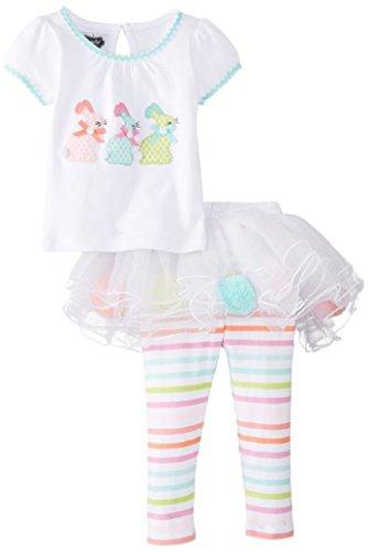 mud pie bunny skirt set - 6