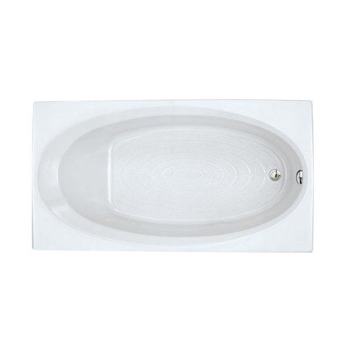 American Standard 2645V002.011 Evolution Oval Bathing Pool, 5-1/2-Feet by 36-Inch, Arctic White American Standard Acrylic Oval Tub