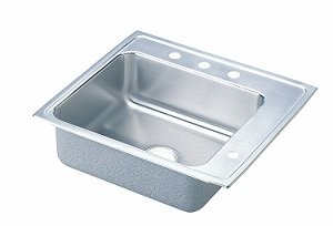 Elkay PSDKR2220R Pacemaker Classroom Sink, Single Bowl, Sink Only, 22