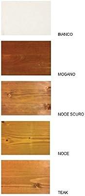 Pergola addossata 3 x 2 de madera decapado impregnada en autoclave: Amazon.es: Jardín