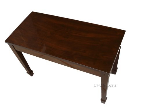 CPS Walnut wood top grand piano bench