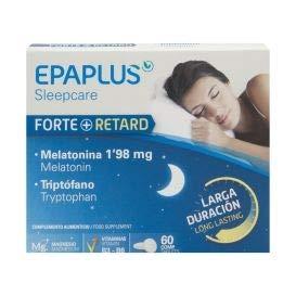 Amazon.com: Epaplus Melatonina Forte+ Retard and Tryptophan 1.98Mg ...