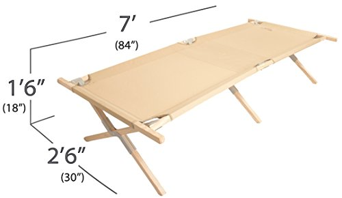 Maine Heritage Cot, folding cot by Byer of Maine by Byer of Maine (Image #5)