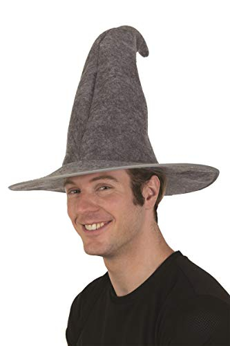 28647 Gray Wizard Hat Adult Unisex 61-62cm 7 3/4]()