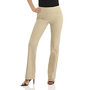Rekucci Women's Ease into Comfort Boot Cut Pant