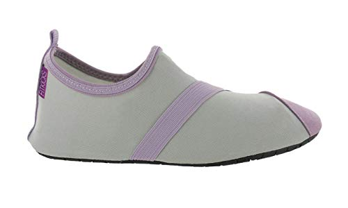 Pour Grey Flexibles Ballet lavendar Yoga Chaussures Fitkicks Voyages D'eau EwqCHOnxn