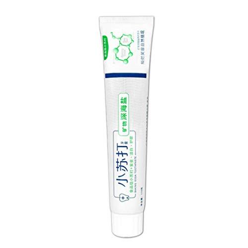 Baking Soda Toothpaste,TADAMI Strengthening Stain Removal Gel Toothpaste Whitening Toothpaste Fight Bleeding Gums White Toothpaste (A)