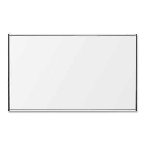 Lorell Porcelain Marker Boards-Porcelain Board, 4'x8', Satin Aluminum Frame