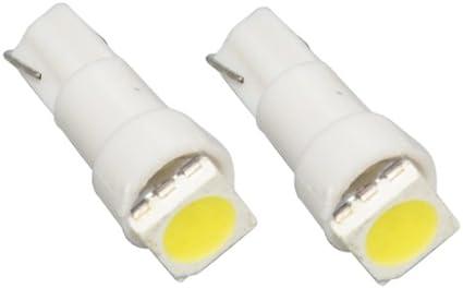 T5SW - SMD LED Lámpara Blanco T5 W2,3W T5 12V lámpara del ...