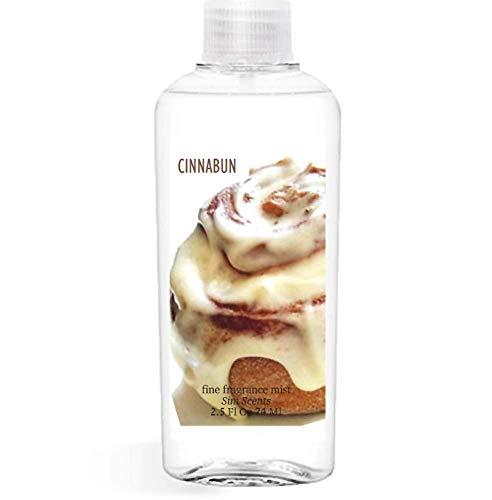 Cinnabon type Cinnamon Roll Perfume Cinnabun Fine Fragrance Mist by Body Exotics New Larger Size 3.5 Fl Oz 103 Ml ~ the Scent of Warm Cinnamon Rolls topped with Vanilla ()