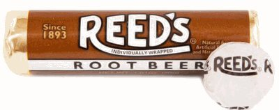 Reeds Classic Hard Candy Rolls - Root Beer Pack of 24