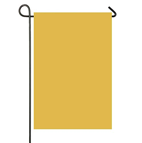 - Mustard Yellow Christmas Limited Edition Garden Flags 12x18 inch Holiday Yard Flags - Double Sided Design for All Seasons and Holiday