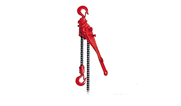 3//4 Tons Capacity Coffing 09463W Ratchet Lever Hoist LSB-1500B with Load Limiter 20 Lift Height 20/' Lift Height COF   09463W
