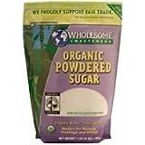 Wholesome Sweetners Organic Powdered Sugar (3x1 LB)