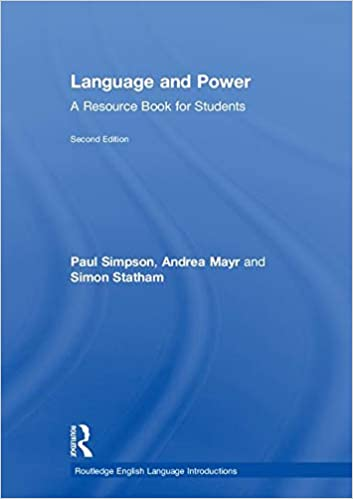 Language And Power A Resource Book For Students