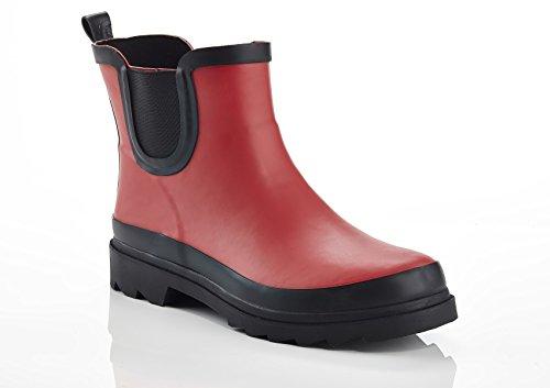 Rain Booties Women's Red Unsensored Blast Waterproof Wn4xgO