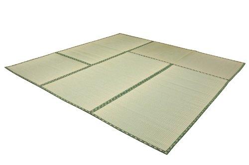 イケヒコ い草 上敷き 糸引織 『四季の暮らし』 本間 8畳 (約382×382cm) B0015PRNFY