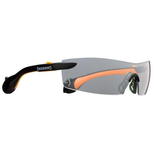 Browning Sound Shield Indoor/Outdoor Shooting Glasses, Large, Orange
