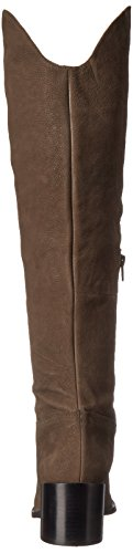 Nine West mujer Enrica piel Over-The-Knee Boot Gris oscuro