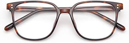 Livho Acetate Blue Light Blocking Glasses Women Men, Fashion Fake Frames, Blue Lense for Computer Gaming Eye Strain