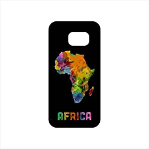 Fmstyles - Samsung S7 Mobile Case - Afrian Watercolor Map