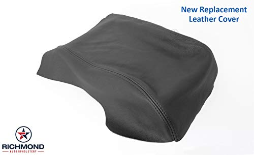 Richmond Auto Upholstery: Compatible with 2011 2012 2013 2014 2015 2016 Ford F-250 F-350 Lariat - Center Console Lid Replacement Cover, ()