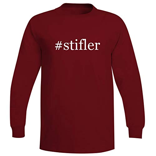 #Stifler - A Soft & Comfortable Hashtag Men's Long Sleeve T-Shirt, Red, Small