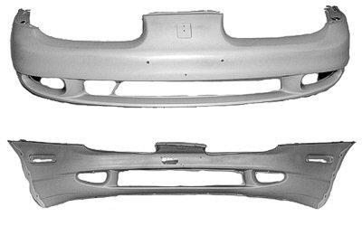 CPP Front Bumper Cover for 2000-2002 Saturn SL, SL1, SL2 ()