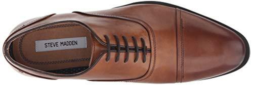 0664fdd0b7e Steve Madden Men's Elwood Oxford tan Leather 13 M US