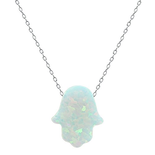 Opal pendant Necklace Sterling Silver