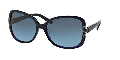 Tory Burch Women's TY7022 Sunglasses Navy / Blue Gradient - Navy Tory Burch
