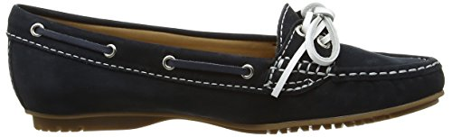 Sebago Meriden Two Eye - Mocasines, Mujer Azul (Navy Nubuck)