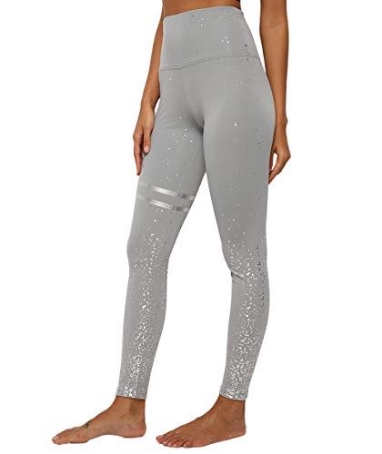 Pau1Hami1ton Vrouwen Hoge Taille Yoga Broek Capris Bronzing Leggings Workout Running Panty GP-19