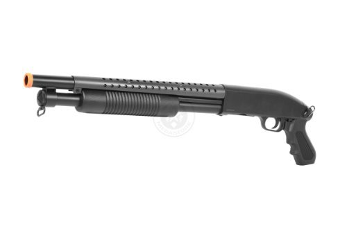 Airsoft Shotgun Pump - BBTac Airsoft Pump Action Shotgun Rifle 400 FPS Police