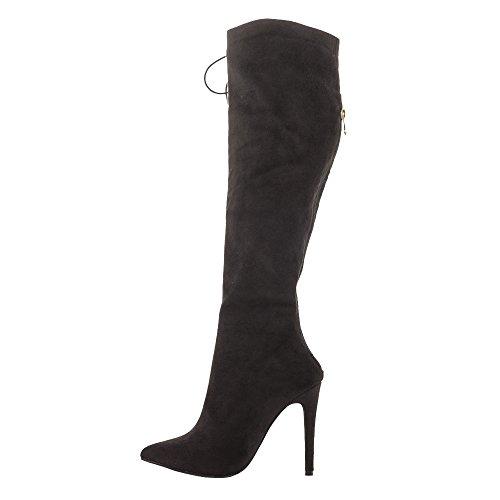 EKS - botas clásicas Mujer negro
