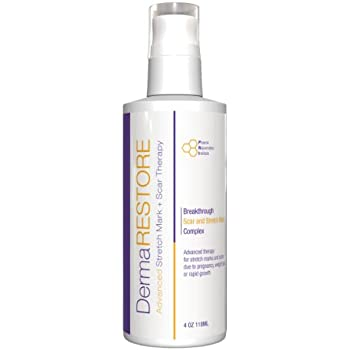 DermaRESTORE Scar - Clinically Proven Scar Treatment and Wound Care - Acne Scar Removal - The Latest in Skin Repair technology - 4oz Cream