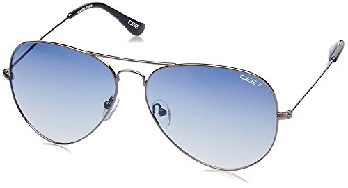 IDEE Polarized Aviator Men's Sunglasses – (IDS2101C13PSG|62|Blue Gradient lens)