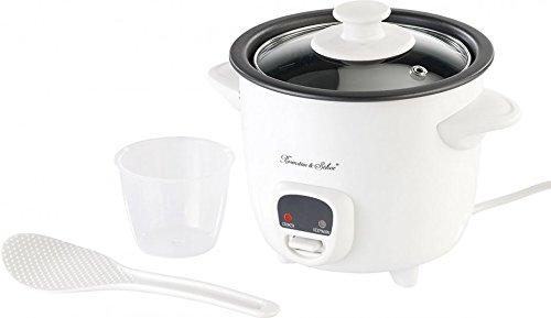 Rosenstein & Söhne - Cuociriso con funzione di mantenimento del calore, 0,5 L