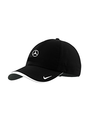 Mercedes Benz Nike Running Hat W Dri Fit Moisture Technology  Black