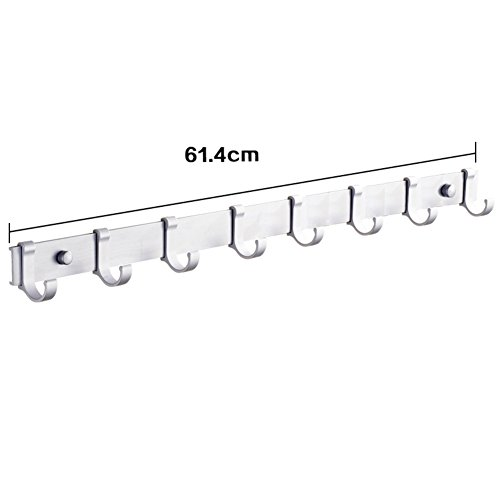85%OFF Space aluminum pegs/ bathroom hooks/Door hooks in the back/Cloakroom hooks-G